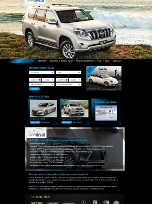 Car Rental Website Design in Dubai