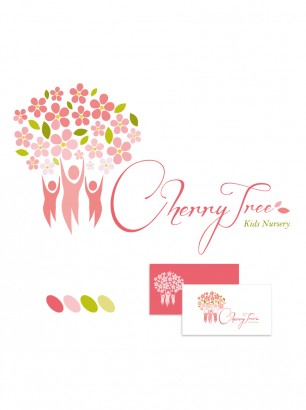 Cherry Tree Kids Nursery Logo Dubai